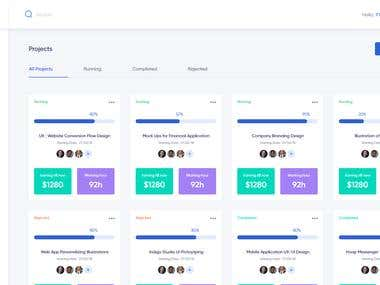 CRM Project Dashboard