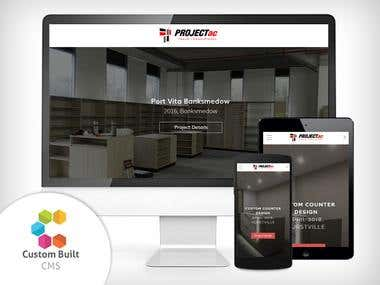 Architectural Firm Website - Custom CMS
