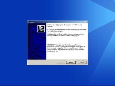 Windows Installation MSI Wizard