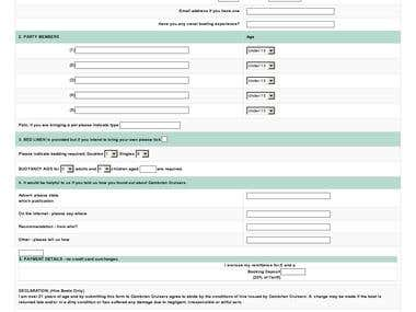 Website Form