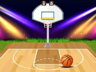 BasketBall Game - Cocos2d-x