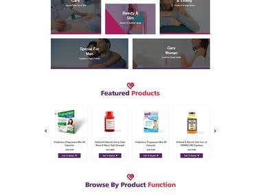 Bilingual eCommerce (WooCommerce) WordPress Website