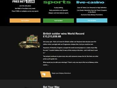 Online Casino and Betting Site