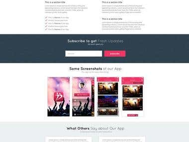 Some of my designed of IT Company Site