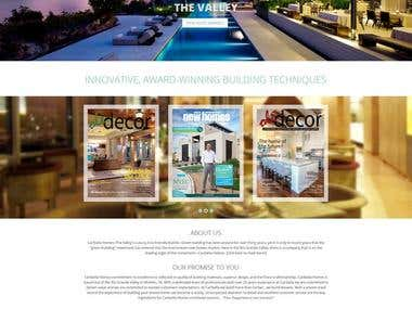 Some of my Real Estate, Property & Homes Site Designs