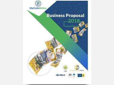 Business Proposal -Cover Page