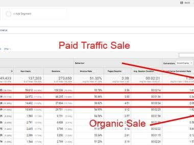PPC & SEO Revenue Results