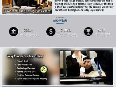 Advocate Law Website