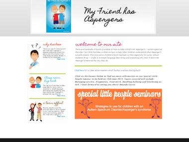 Kids Websites for promoting Book and Seminars