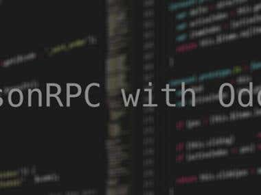Json RPC with Odoo