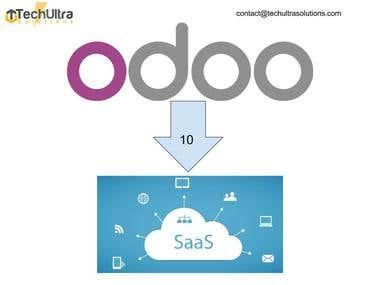 Odoo V10 SAAS Setup