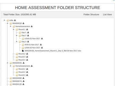 Directory Structure Application
