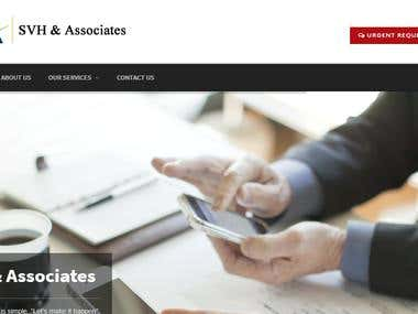 SVH-Associates Business Website