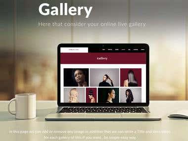 Create stunning website on WIX.COM