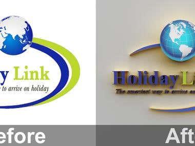 Change logo style