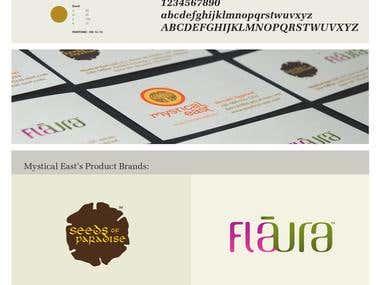 brand design, brochure design, web design, packaging design