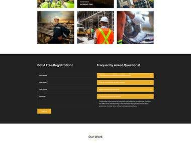 My Contract HTML Template Design for Themeforest