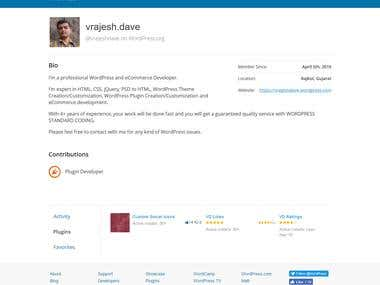 Wordpress Plugin in Wordpress repository