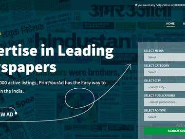 Newpaper advertisement Tool