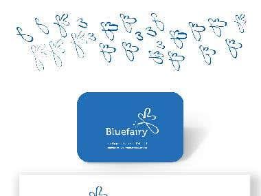 logo design for bluefairy