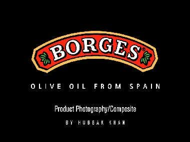 Borges Olive Oil (Product Photography)