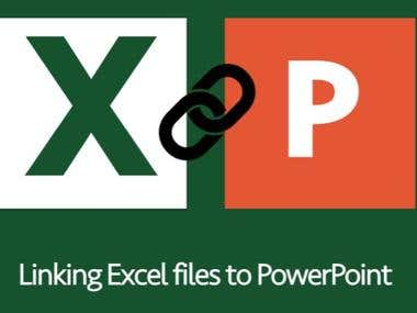 I can automate copy graph from excel to power point