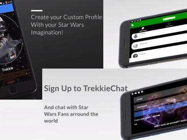 Trekkie Chat App