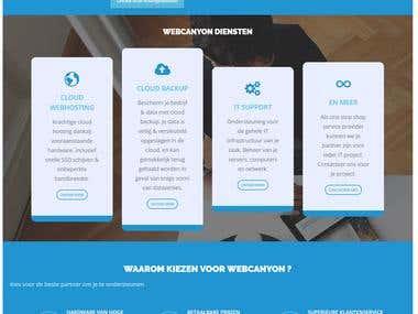 Webhosting & Domain Services Website