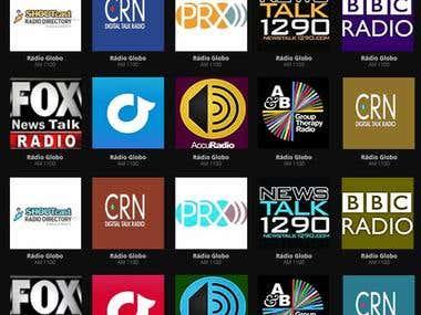 Online Radio Aggregator
