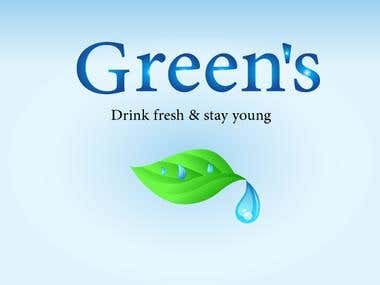 Green's water