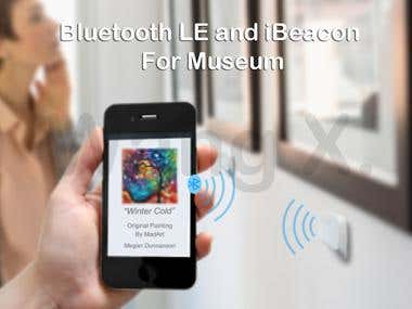 BLE & iBeacon Demo for Museum