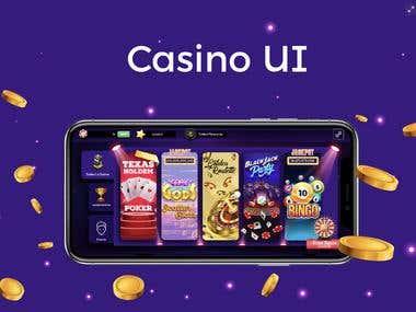 Casino UI / Ux