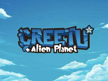 Creetu Logo for game