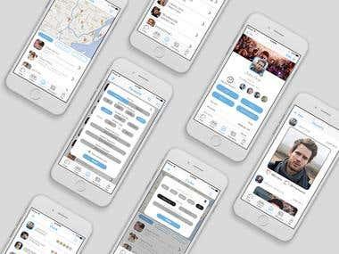 ChatApp UI / UX