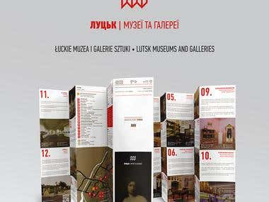 "Brochure ""Museums and Galleries of Lutsk"""