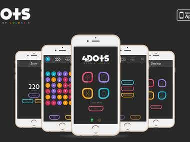 4Dots iPhone game