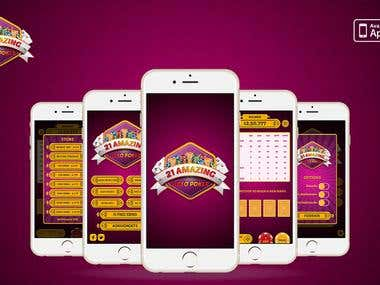 21 Amazing Blackjack iPhone game