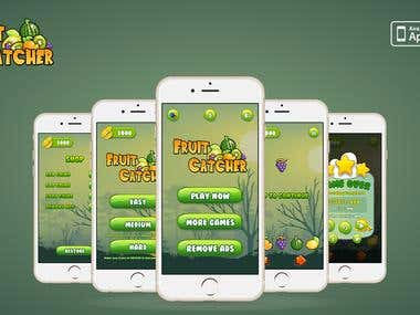 Fruit Catcher iPhone game