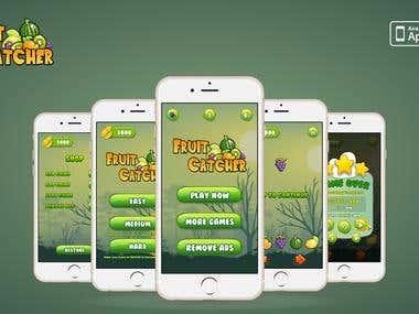 Fruit Catcher iPhone game