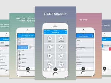 App store screenshots for iPhone & Android apps