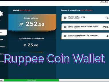 Ruppee Masternode Coin Wallet