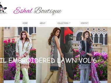 Visit www.eshalboutique.com