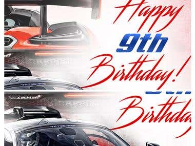 McLaren Bday Design
