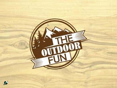 The Out door fun logo