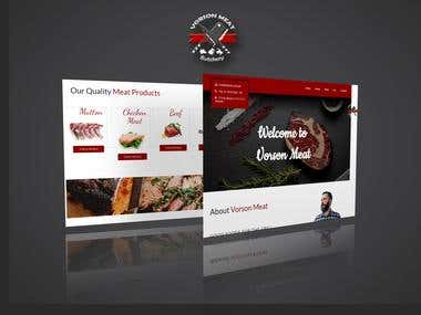 Web Design & Development - Vorson Meat