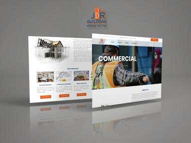 Web Design & Development - JDR Builders