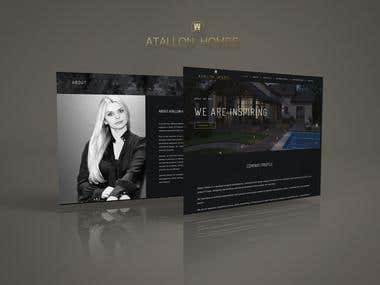 Web Design & Development - Attalon Homes