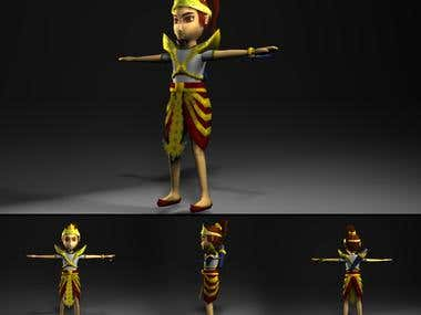 Character for animation