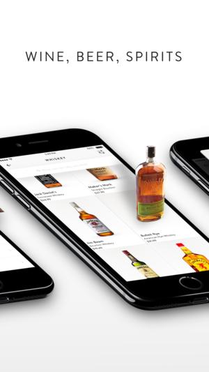 Booze delivering app