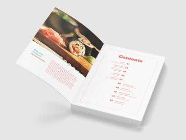 Recipe Book - Designing